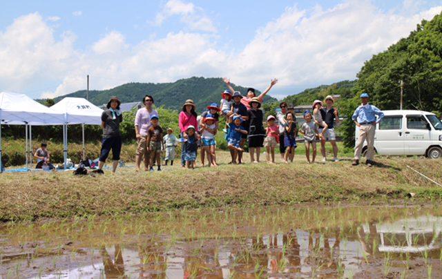 【体験レポート】ファミリーで楽しめる田植えで本格農家体験