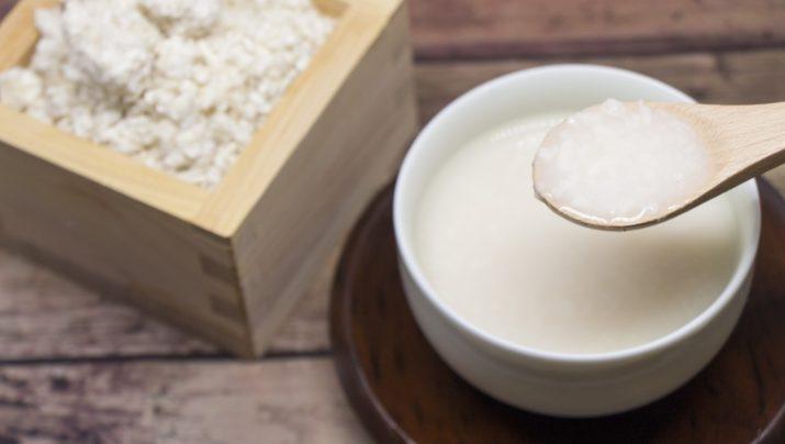 米麹の自家製甘酒